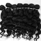 Virgin Malaysian Natural wave available in the salon