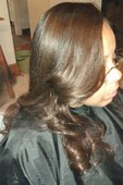 FULL CELEBRITY SEW-IN W/ NATURAL PART