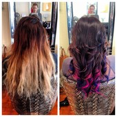 Before & After Color Creations
