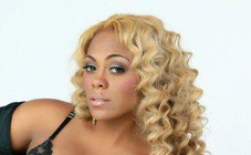 Blonde Sewn Install with Wand Curls by Aisha & Vanity Enterprises