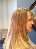 multi-dimensional highlight and brazilian blowout