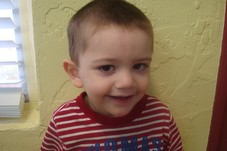 little boy haircut.