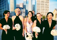 Along with working at a salon in downtown Los Angeles, Christine works off site for a brides big day and her bridesmaids!