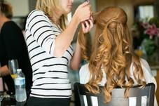 wedding hair by salon method