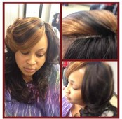 Invisible Part Sew-In