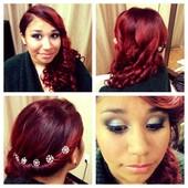Updo & Makeup