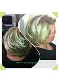 HL & layered bob cut & style