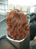 Beautiful Red Copper with 100% grey coverage (no ammonia)