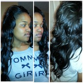 "Sew-In Install  Cut/Style By ""Kimberly"""