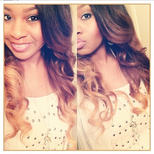 Natural Sew In Peruvian Body wave 20'22'24 Custom Ombre
