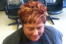 Susan's Choppy Cut&Color