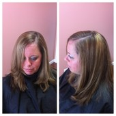 Blowout with highlights