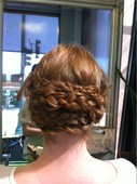 Kaley's Braided Updo