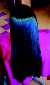 Long and luxurious...  Natural or Extentions