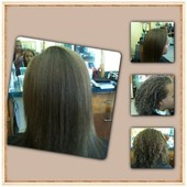 virgin hair - client 12years old