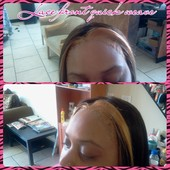 Q-Illusion with lace front finish