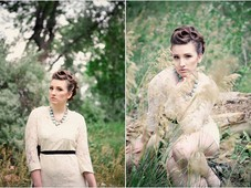 2013 Garden Party Updo Collection