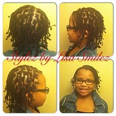 Kids Box braids no hair added