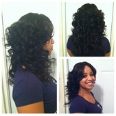 Full sewin with lace closure