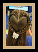Kids designed braids for weddings and special occasions