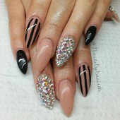full gel set withSwarvoski bling