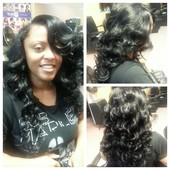 sew in with minimal leave out