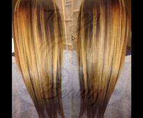 Color job/ extensions sew-in