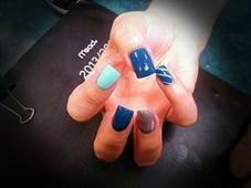 Blue gels!