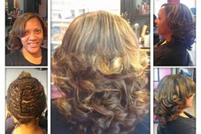 Sew-in and color