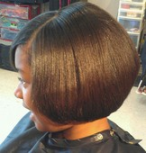 Children's Bob cut, style, and condition