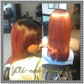 Natural sew-in and color