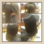 Natural Hair press