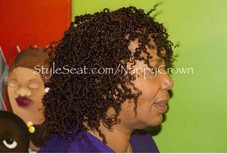Micro Curly Twist