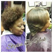 "#1060438 Kenniqua ""Nuk"" Jones's Appointment Photo taken in Salon 215 Elite, Conyers"
