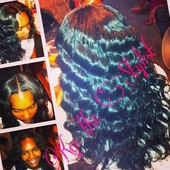 Natural looking Quickweave
