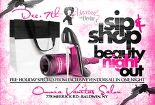 Sip & Shop Beauty Event
