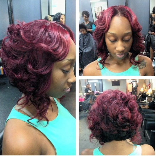 Admirable 1000 Images About Quick Weave On Pinterest Quick Weave Short Hairstyles Gunalazisus