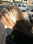 Hi-Lite and Low-Lite of Blonde and a Copper Red