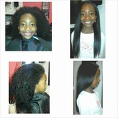 Healthy Natural Hair Blowout w/Trim Before & After Photos -Jazmine Maragh