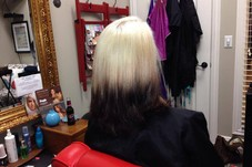 Back view...Reverse Ombre