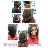 Braid-less weave