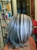 #1691019 Alma  Lorena Flores's Appointment Photo taken in Kerena Beauty Salon, Peoria