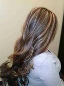 #1691020 Alma  Lorena Flores's Appointment Photo taken in Kerena Beauty Salon, Peoria