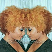 Hair & Makeup by Me! Custom Color (Caramelizing)