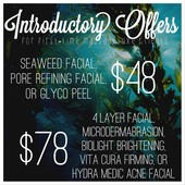 Introductory offers for new clients!