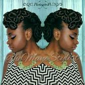 Hair & Makeup by Me!  Natural Updo