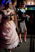 Eclectic Wedding Showcase 2014. Models: Alejandra Garcia, Aimee McQuagge, Brian Coleman. Photo: David Quakenbush.