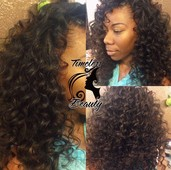 Traditional sew-in, extensions