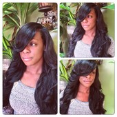 Full weave with low side part