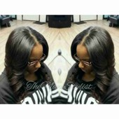 Full Sew-In with Leave Out